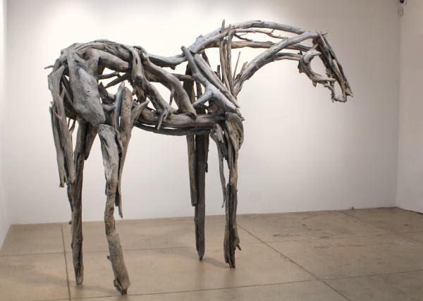 Deborah Butterfield metal horse