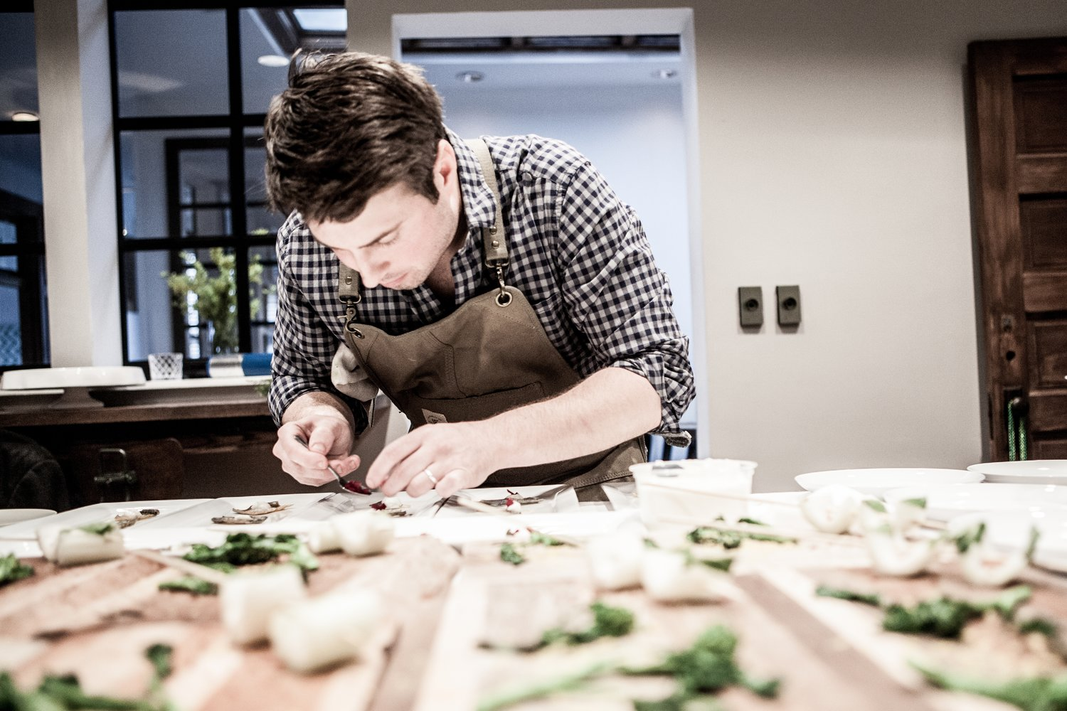 Michael Gallina of Vicia Restaurant. Image by Vicini Restaurant.