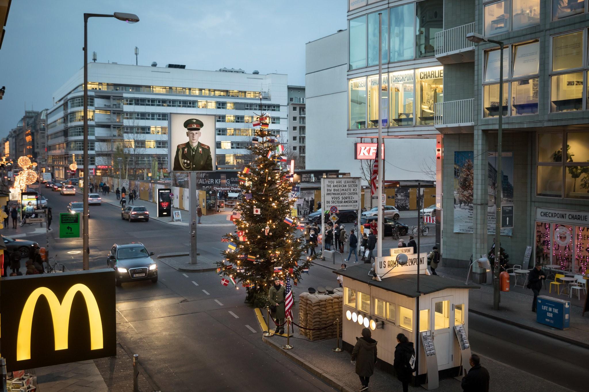Berlin's historic Checkpoint Charlie under threat.