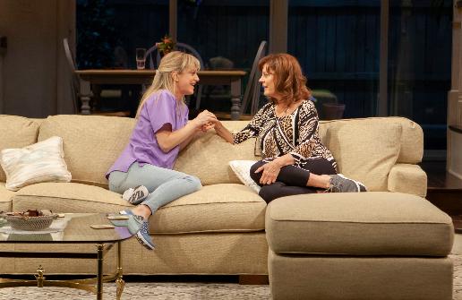 Marin Ireland and Susan Sarandon in  Happy Talk . Photo by Monique Carboni.