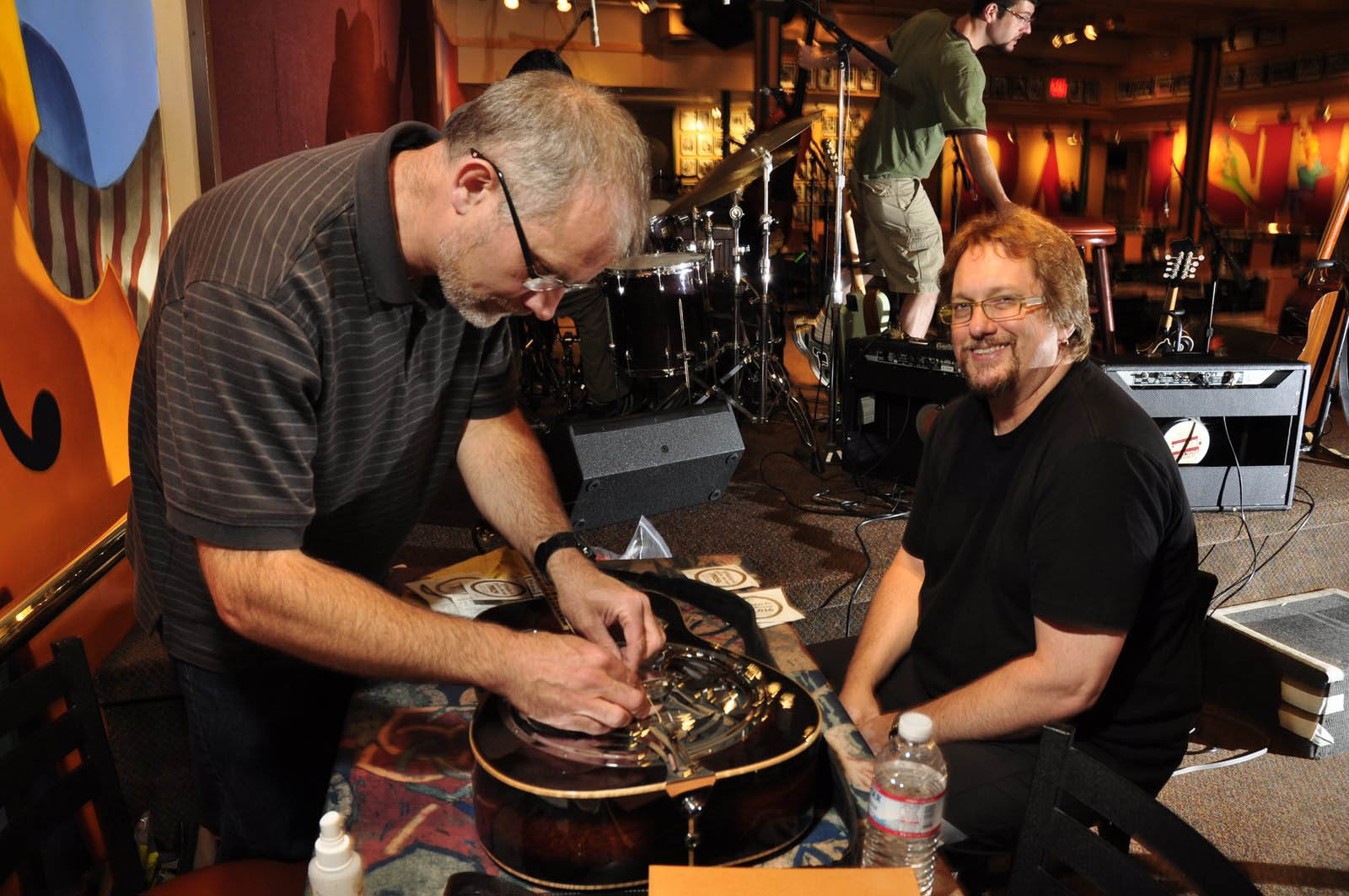 Paul with Jerry Douglas at The Ramshead