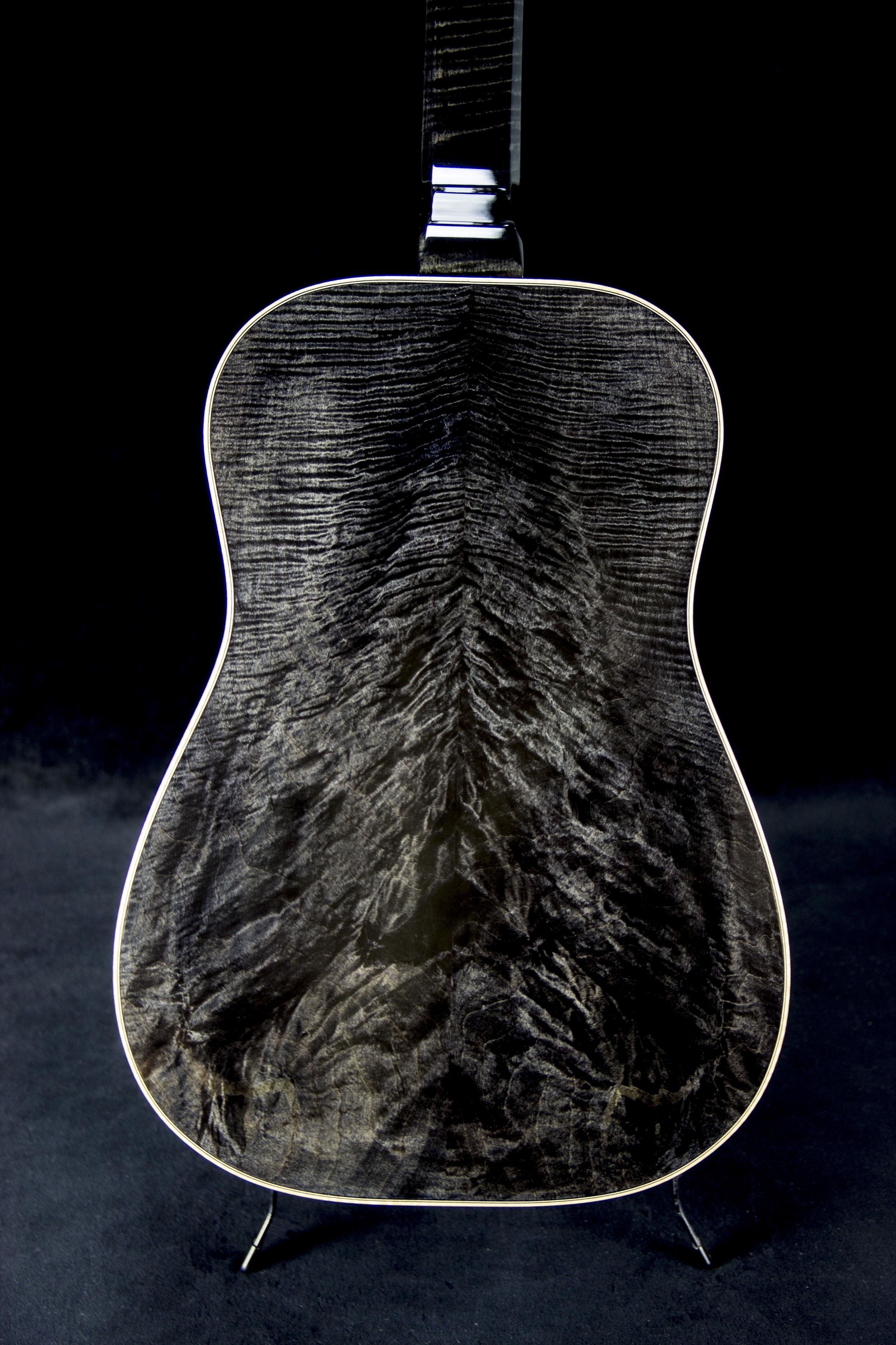 Black Ice- Curly Maple
