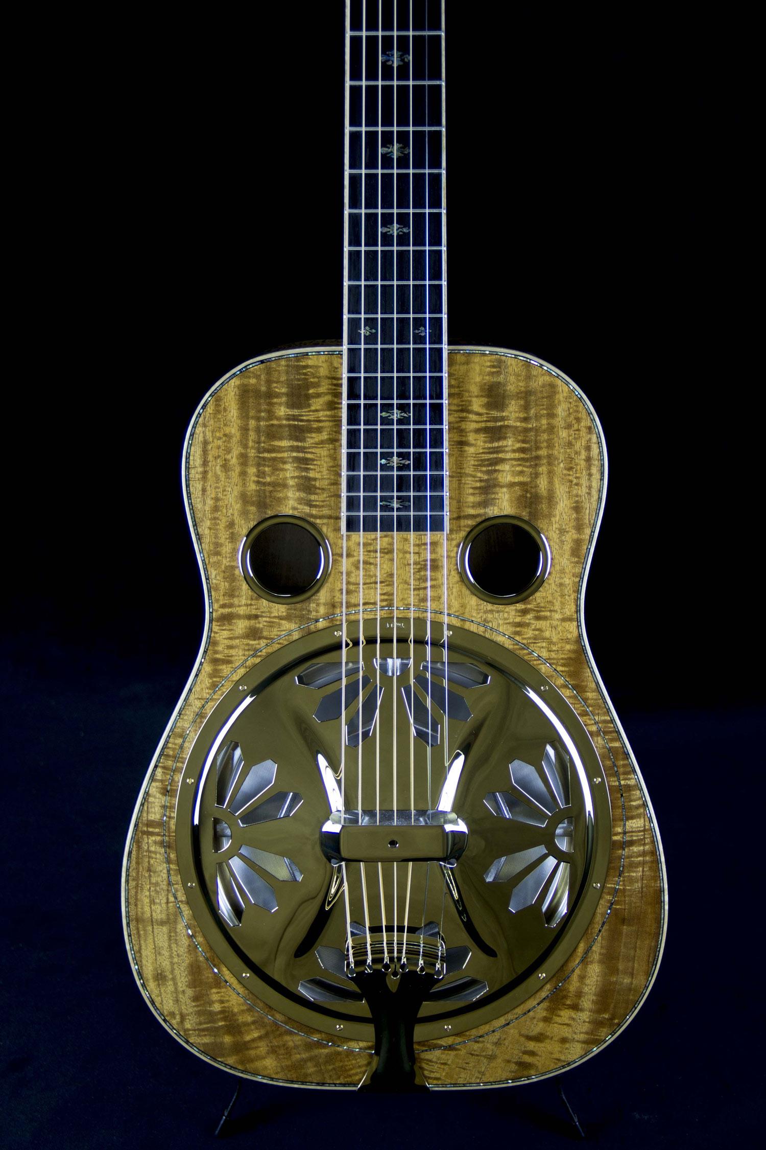 Beard E Model 7 String- Koa