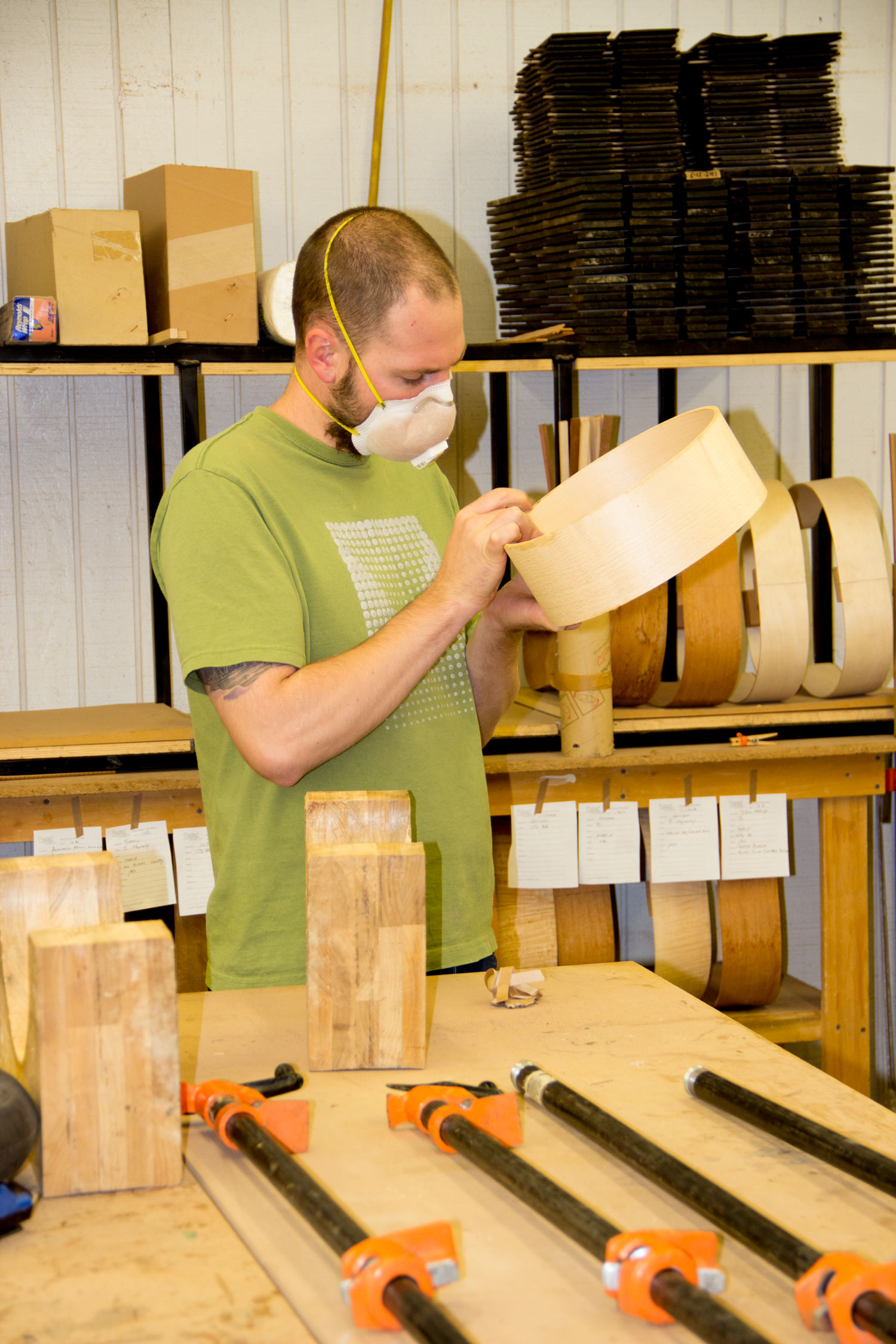 Nate making soundwells