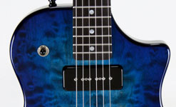 Ocean Blue Burst- Quilted Maple