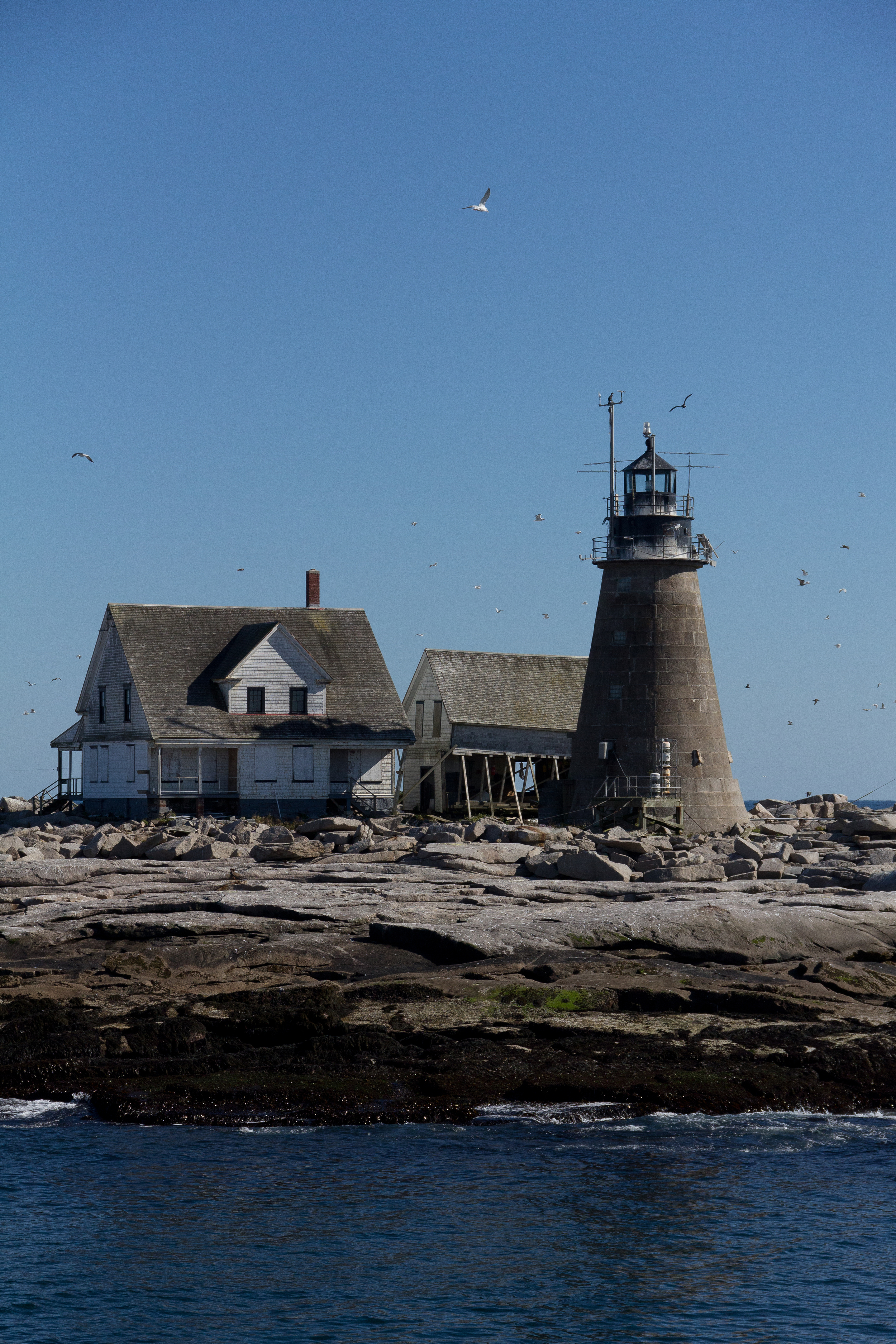 Mount Desert Rock Light Station