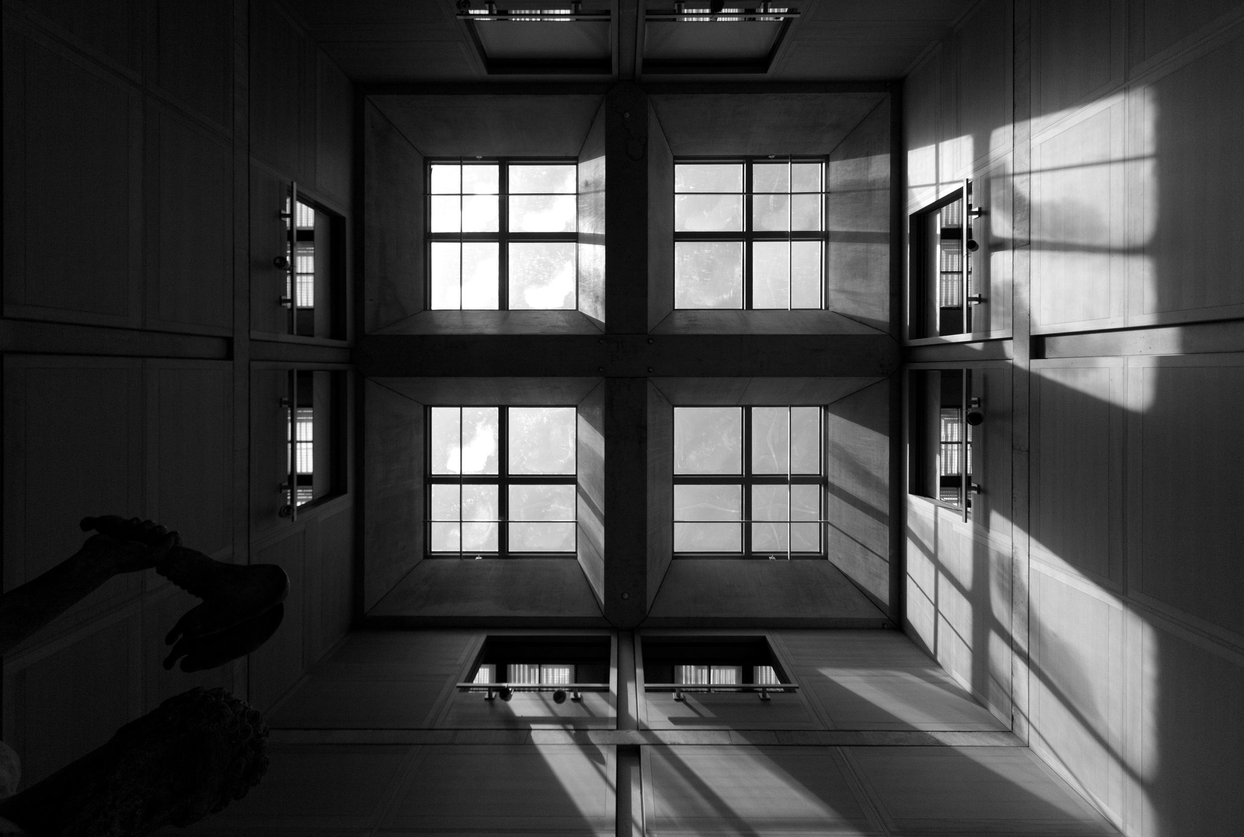 Main Atrium at the Yale Center for British Art