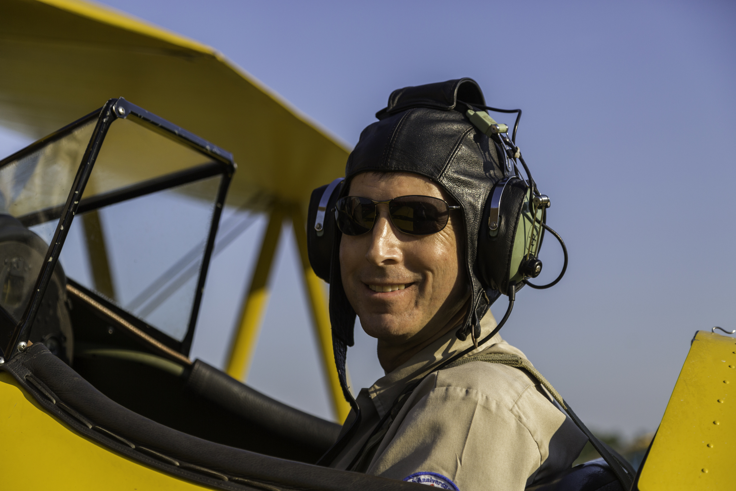 John, the pilot of #747 after we landed.