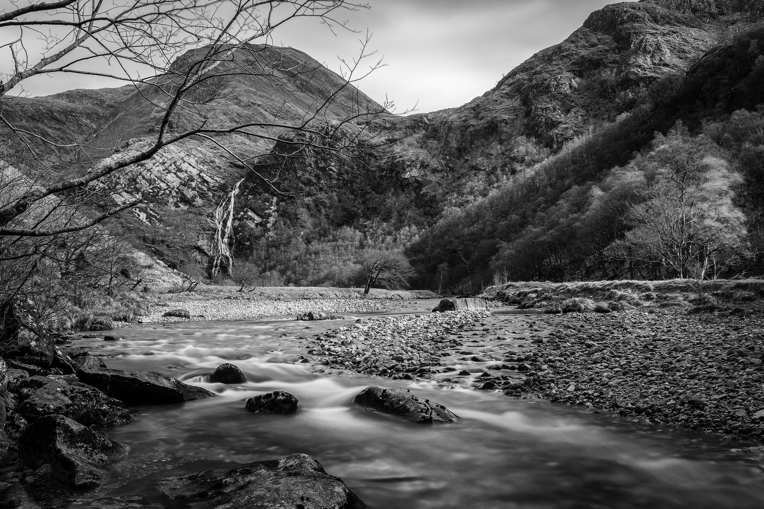 Glen Nevis and Steall Falls, Highland