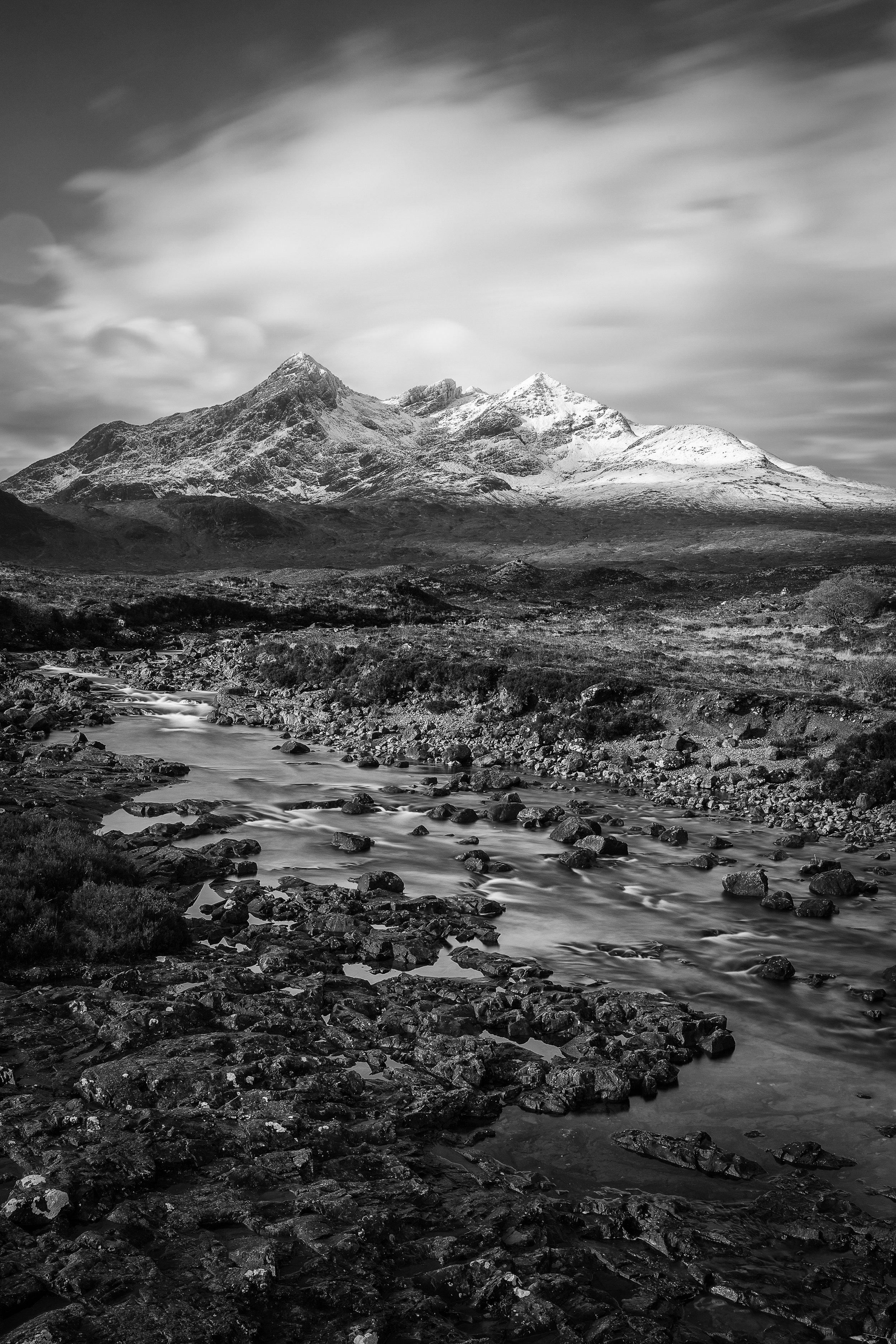 Bruach na Frìthe and Sgurr nan Gillean, Skye