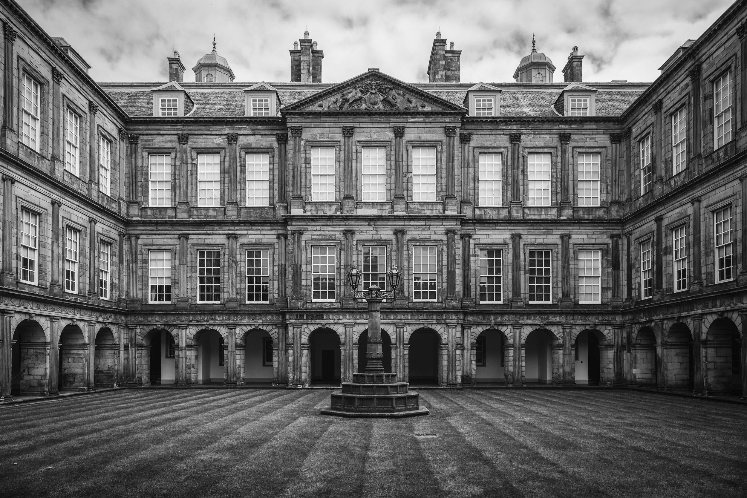 Hollyrood Palace, Edinburg