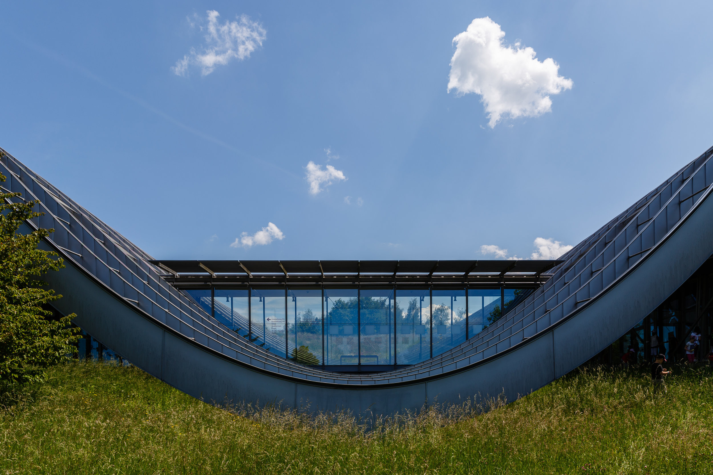 Zentrum Paul Klee designed by Renzo Piano Building Workshop