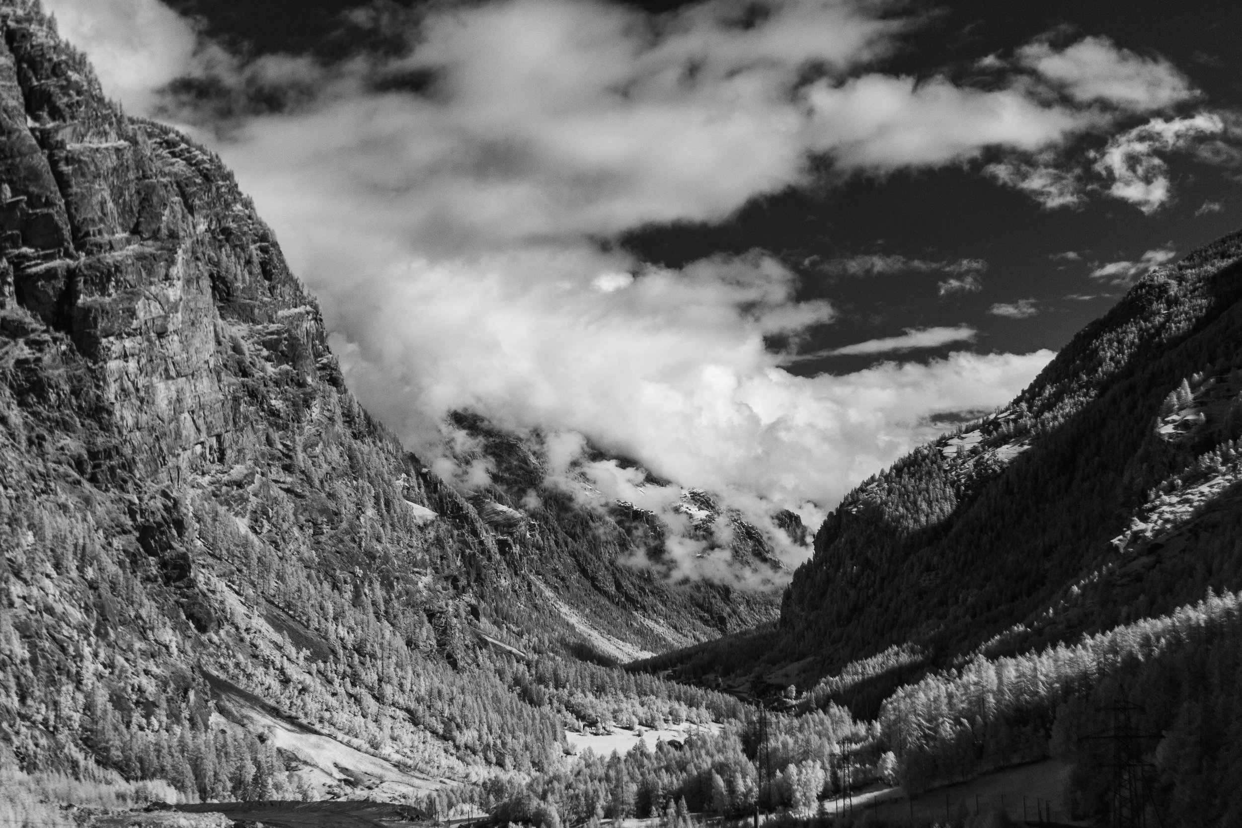 The Valley Leaving Zermatt