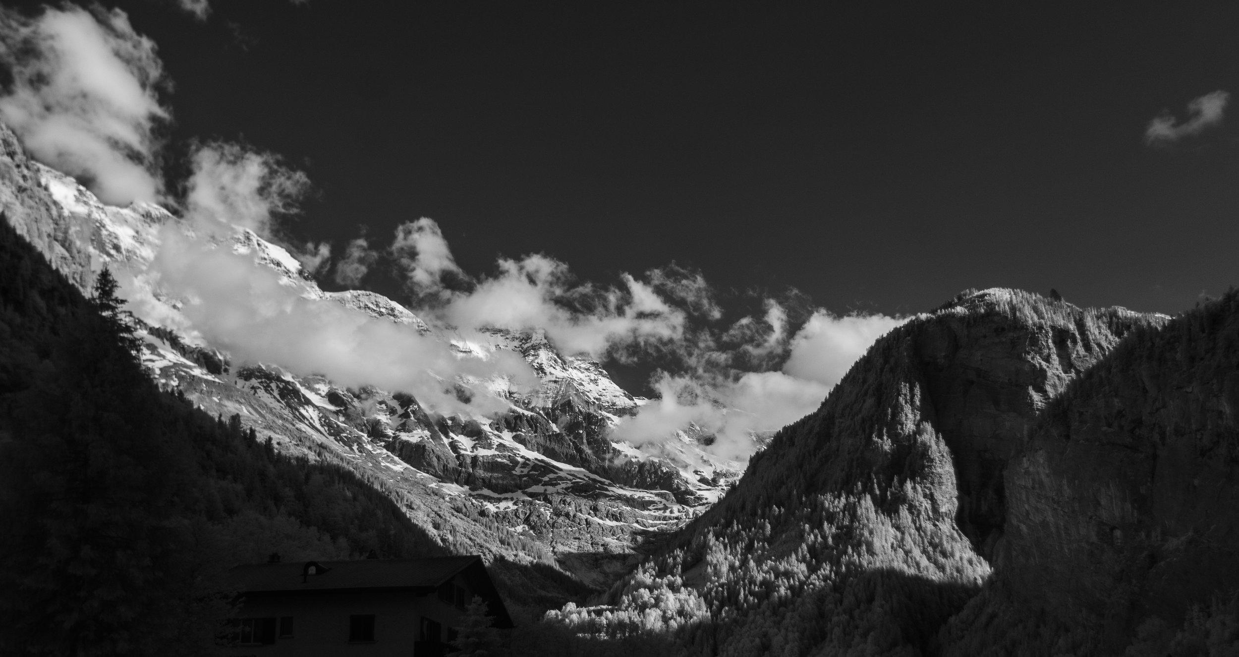 Near the Schlithorn
