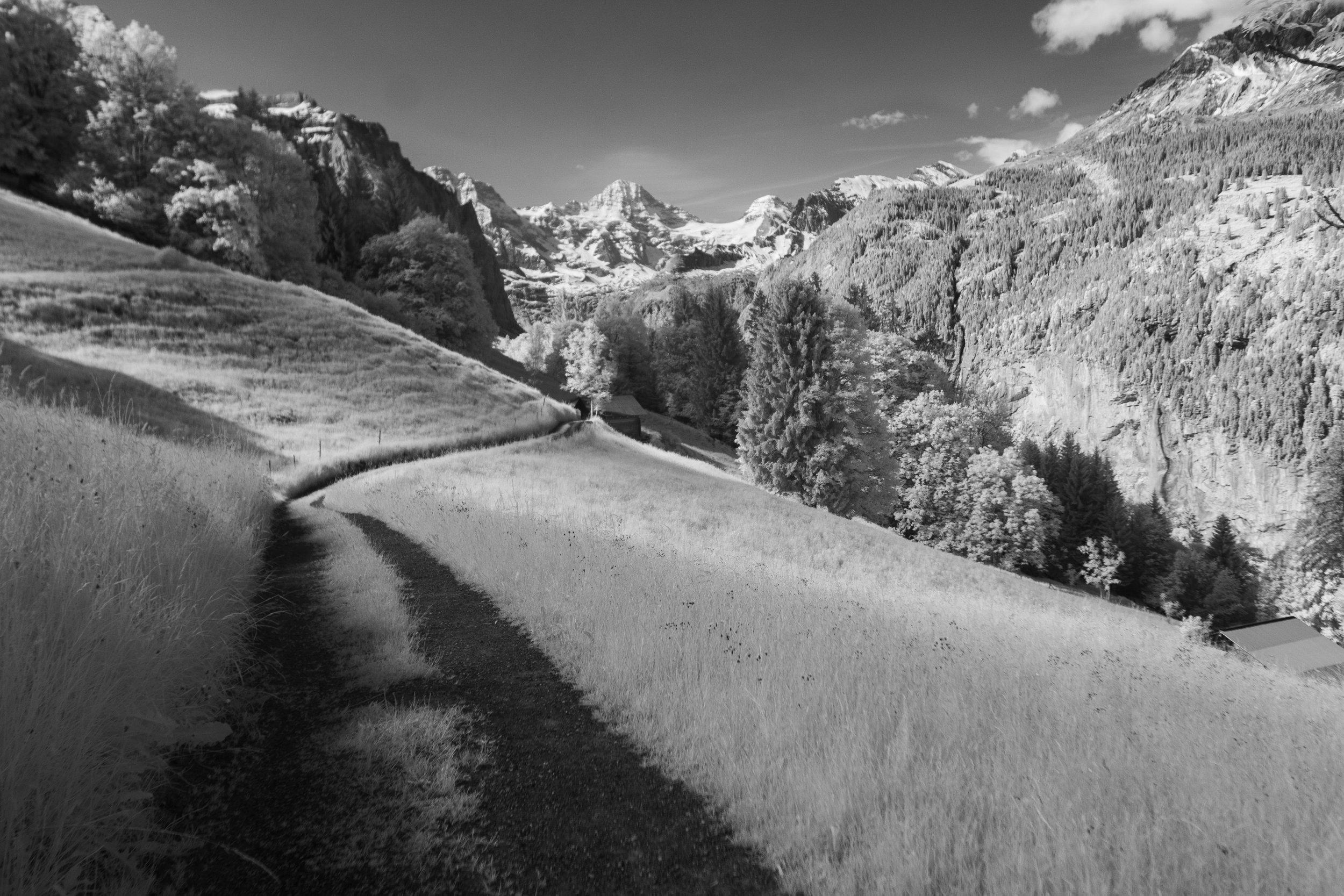 Mountain Paths Above Lauterbrunnen
