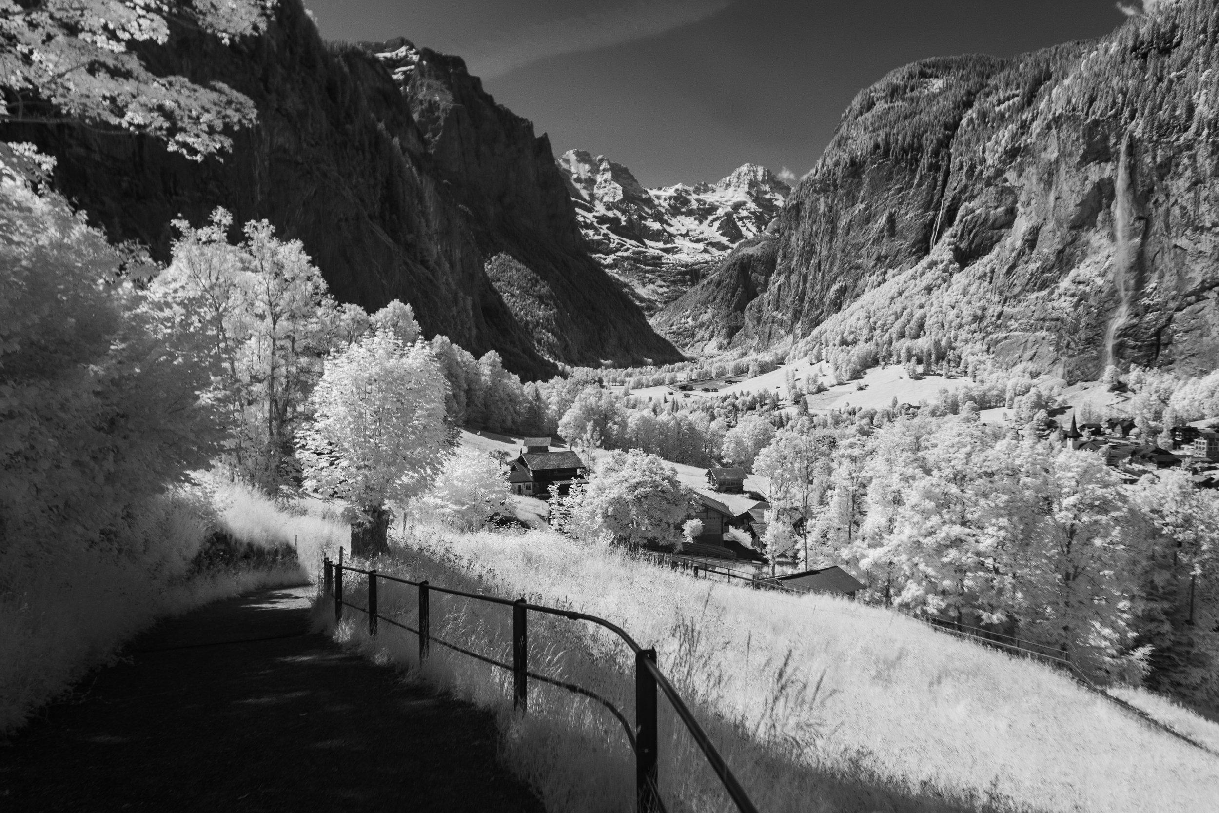 The Valley of 72 Waterfalls, Lauterbrunnen