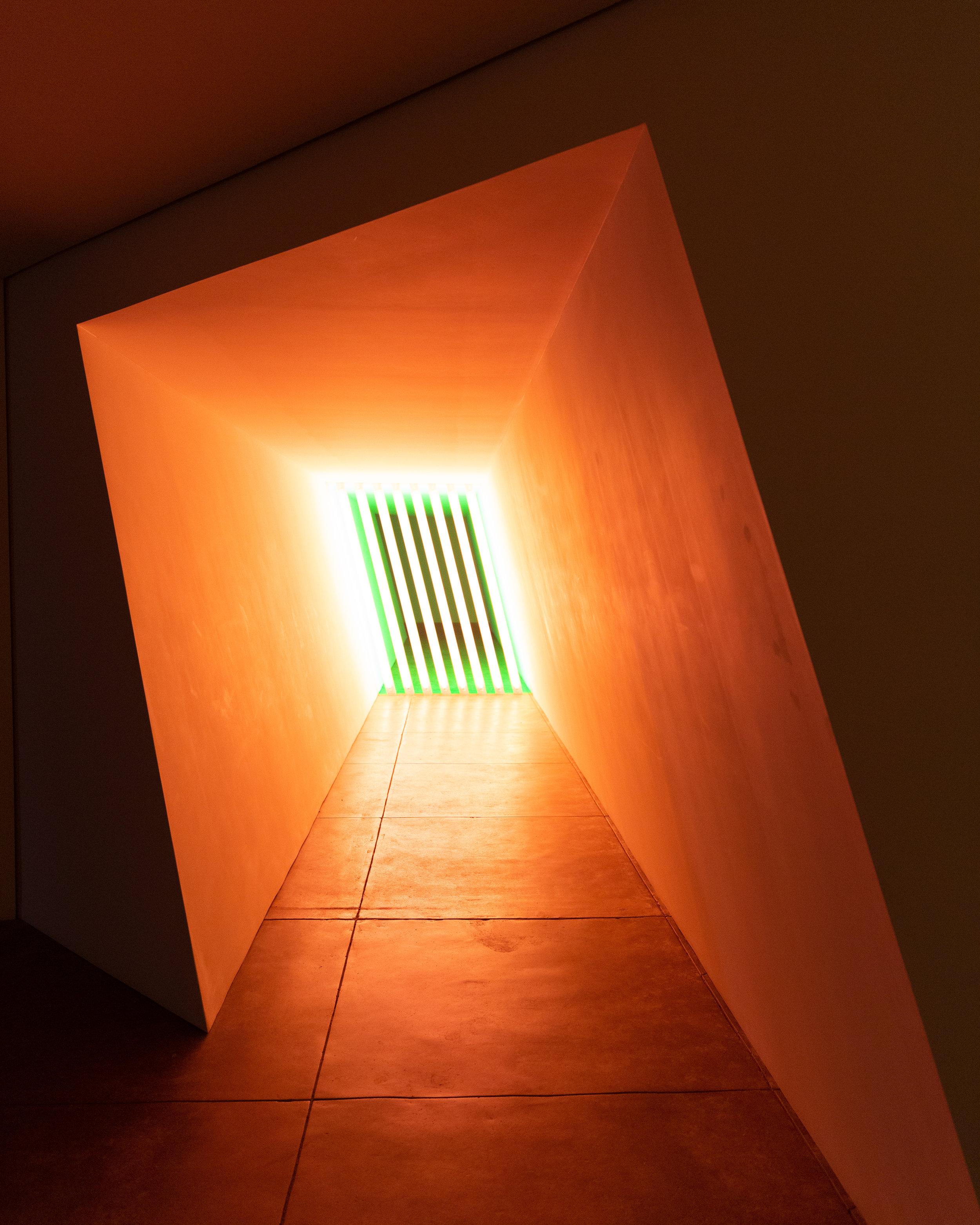 Dan Flavin's Untitled work in 6 Barracks Buildings