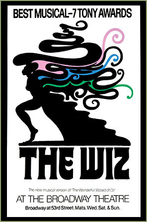 In1975 Geoffrey Holder won two Tonys (Directing and Costume Design) for his work on The Wiz.