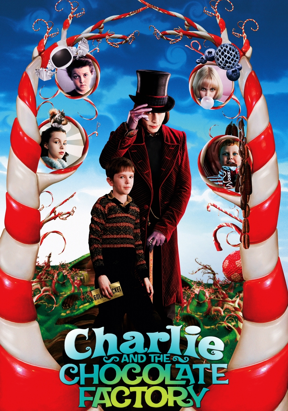 Narrator - Charlie and the Chocolate Factory