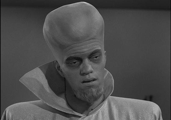 Richard Kiel as Kanamit in Twilight Zone: To Serve Man 1959