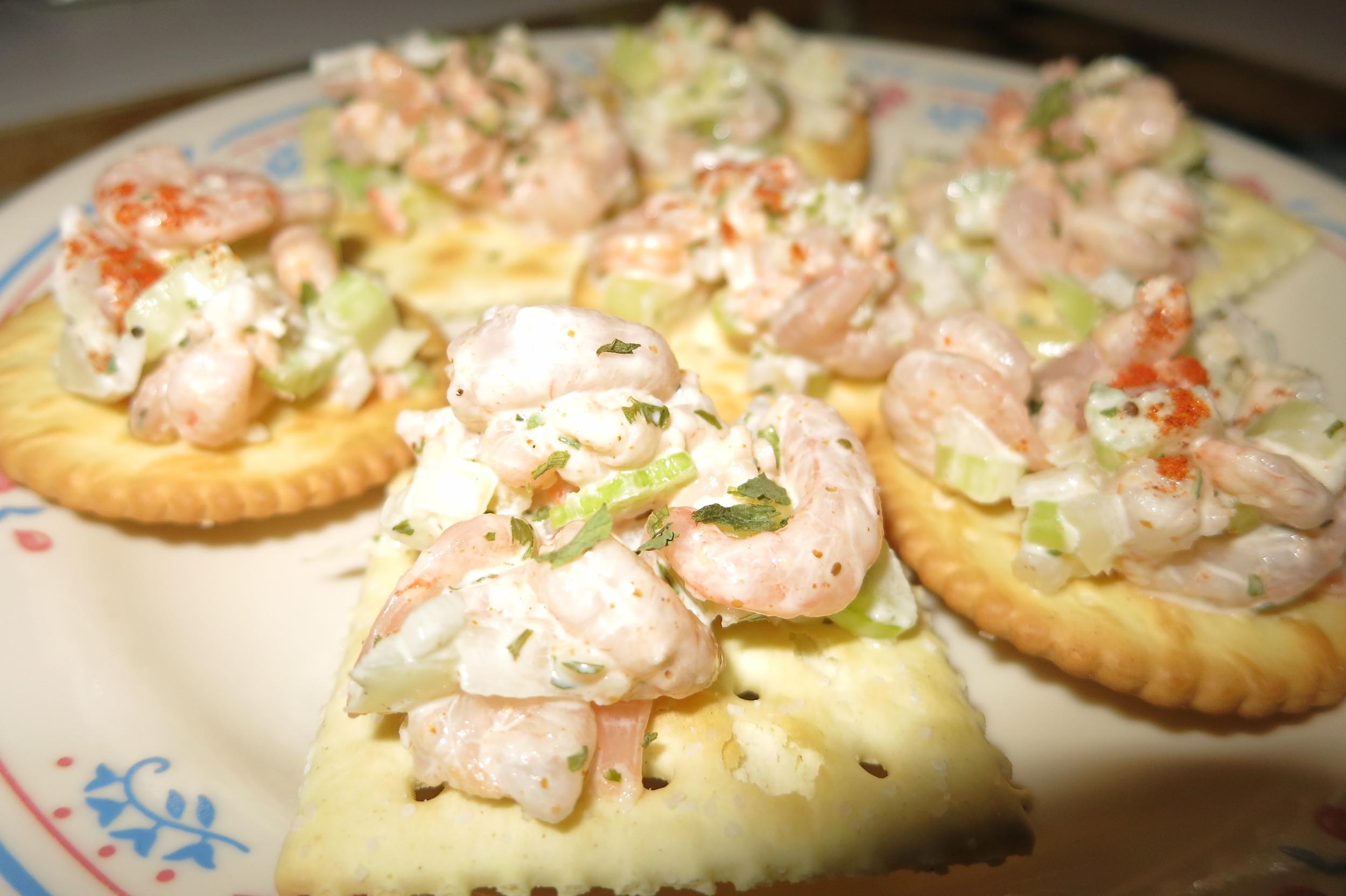 Sassy Shrimp Salad