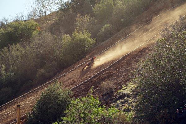 Heartbreak Hill - 100 ft high, 40 degree incline
