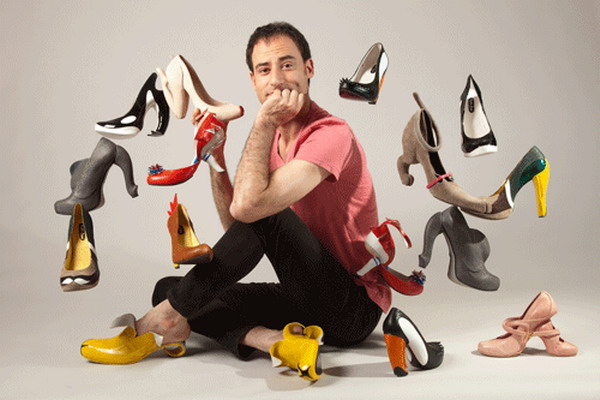 Kobi Levi and his unusual shoes