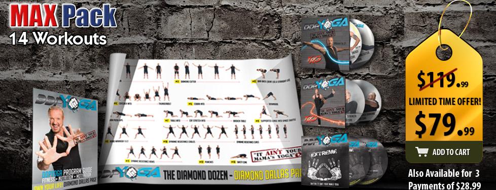 I chose the DDP Yoga Max Pack!
