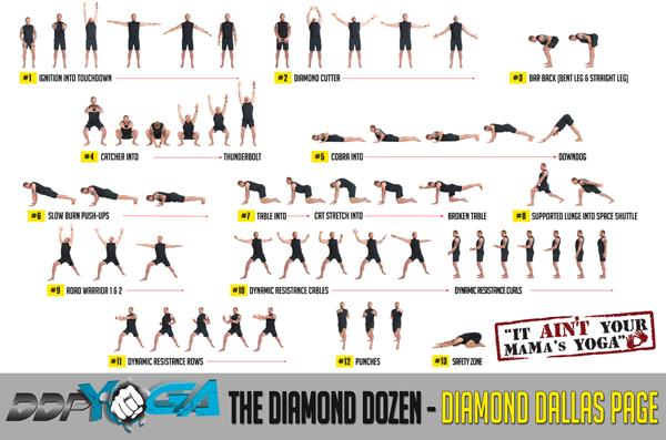DDP Yoga - The Diamond Dozen