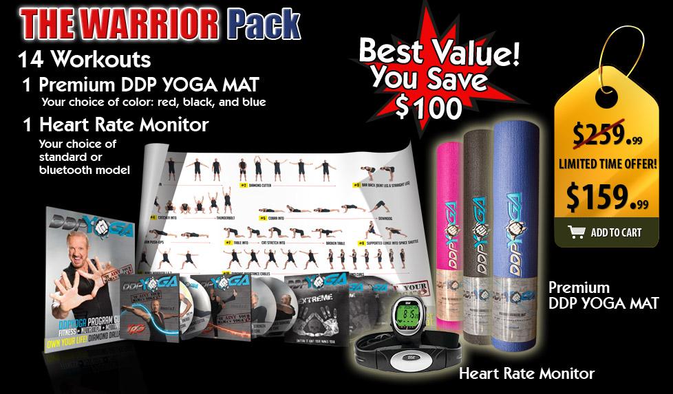 DDP Yoga The Warrior Pack