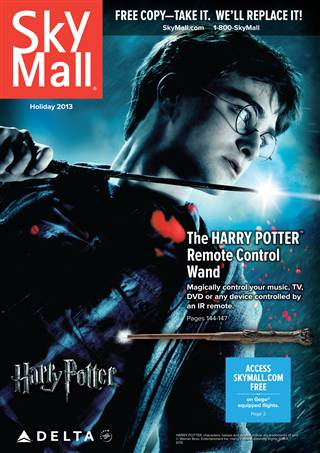 SkyMall Delta Harry Potter