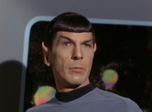 Spock with raised eyebrow Leonard Nimoy.jpg