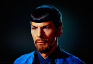 Mirror Mirror Spock with goatee
