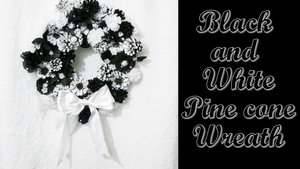 Black+and+White+Pine+Cone+Wreath,+Graduation,+Over+the+Hill,+Tuxedo,+Black+Tie+-Hey+Maaa.jpg