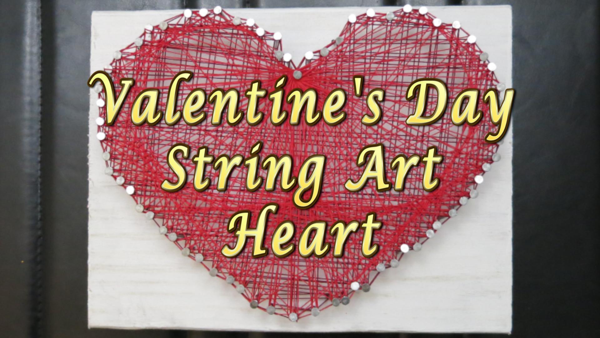Red Valentines Day Heart String Art -Hey Maaa.jpg