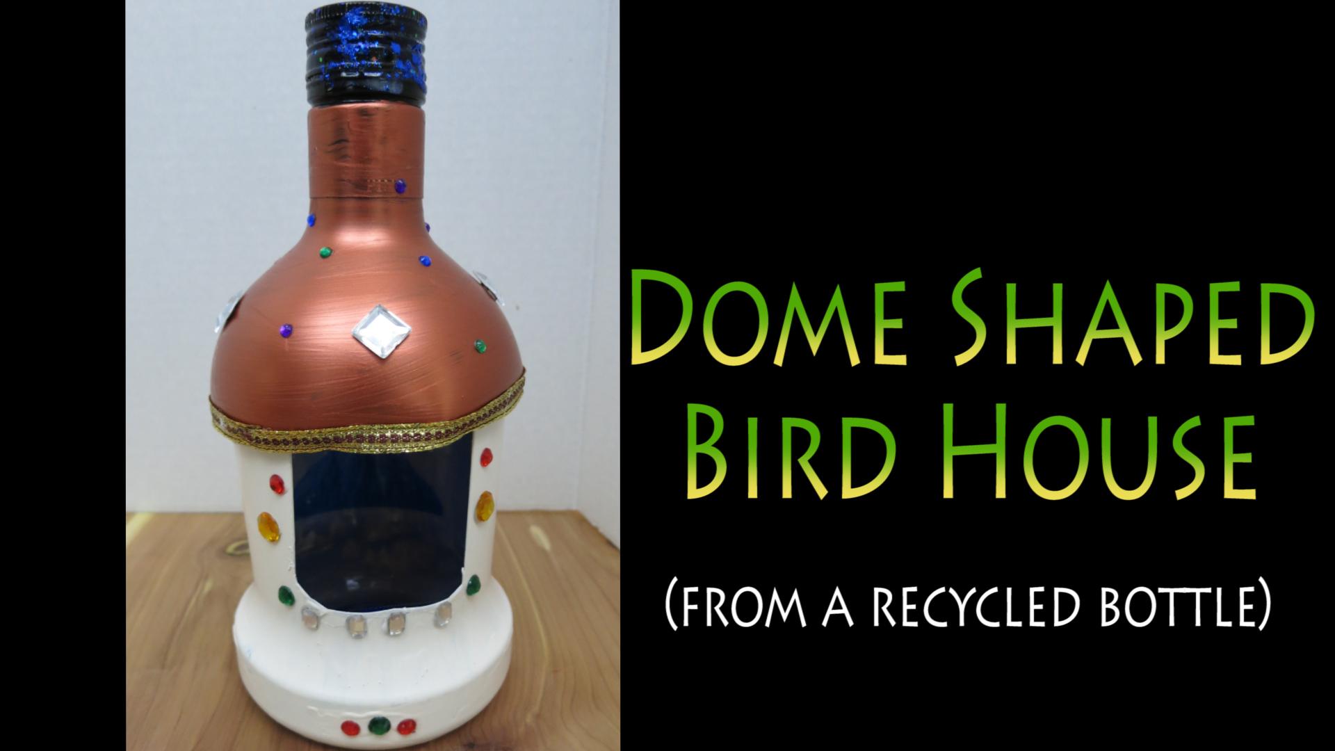 Dome shaped bird feeder Taj Mahal inspired.jpg