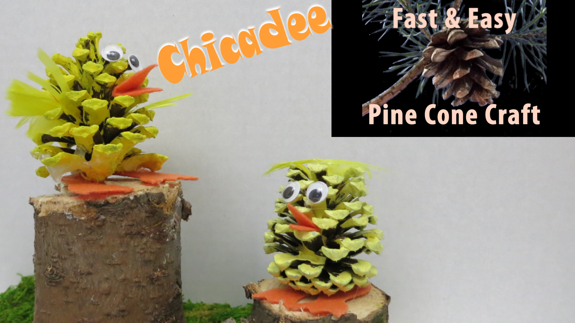 Fast and Easy Chickadee Easter Pine Cone Craft by Hey Maaa.jpg