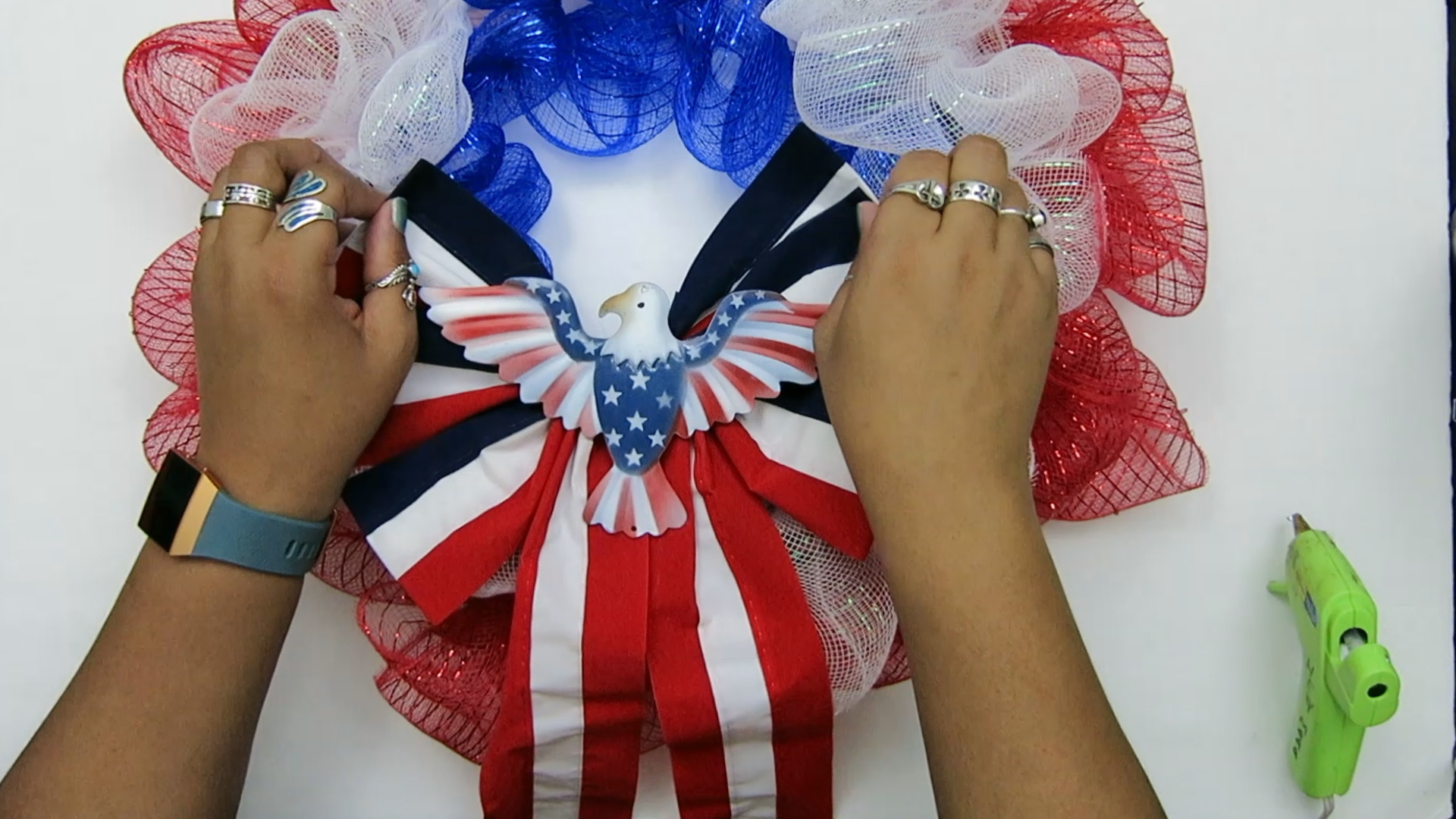 4th of July Deco Mesh Wreath done.jpg