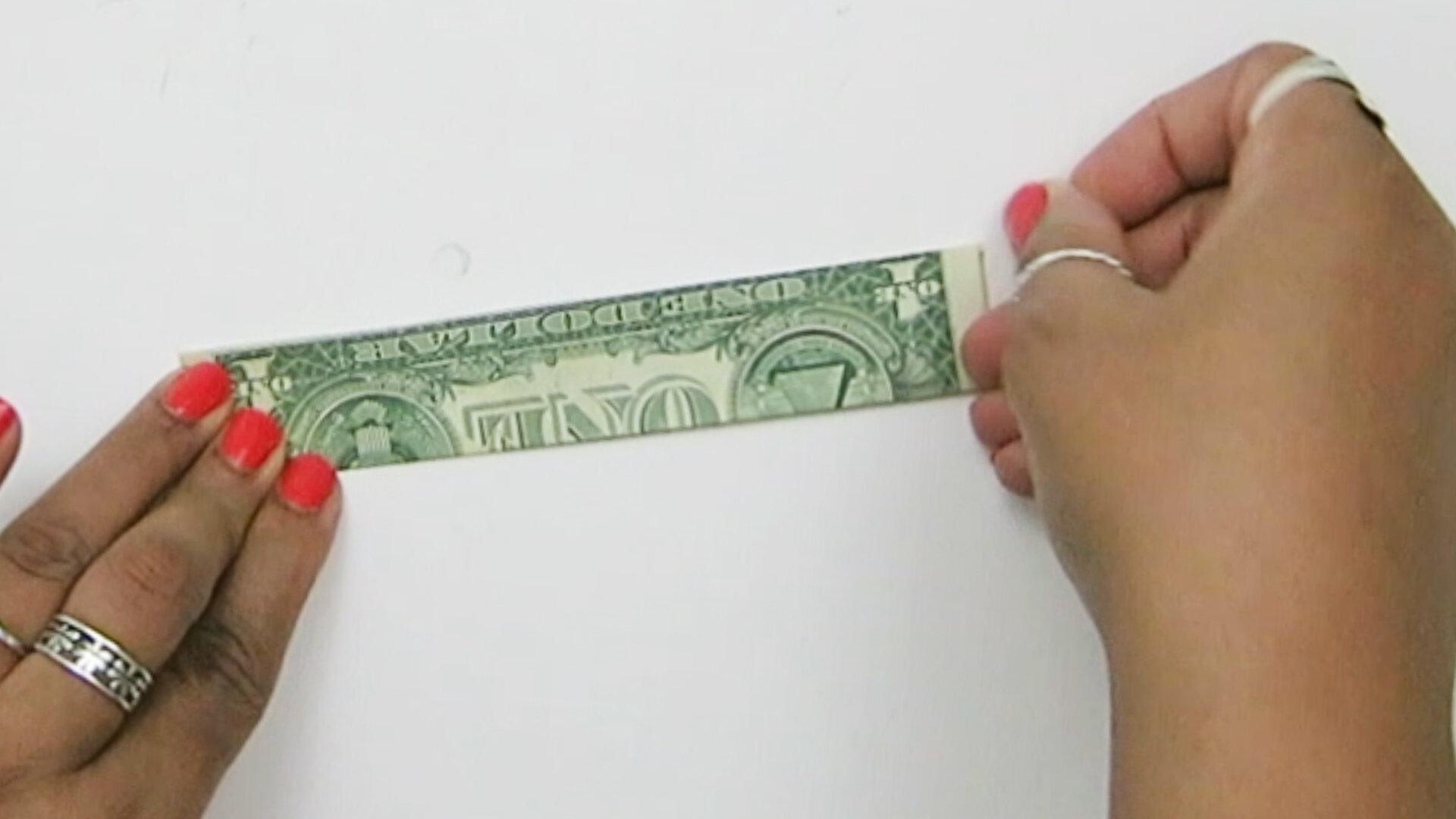 Origami Money Dollar Bill Ring - Best Step by Step Instructions | 563x1000