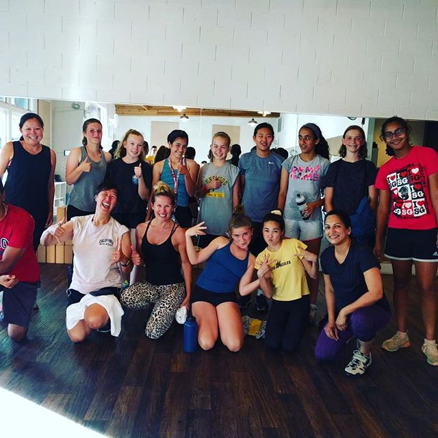 MVLA Soccer Club joining again for a team building ride with Camille on Friday #mvlasoccerclub #losaltos #mountainview #community #girlpower #onabike #momentumstrong