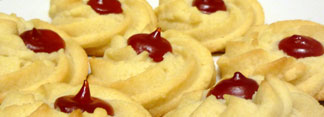 JAM-FILLED BUTTER COOKIES