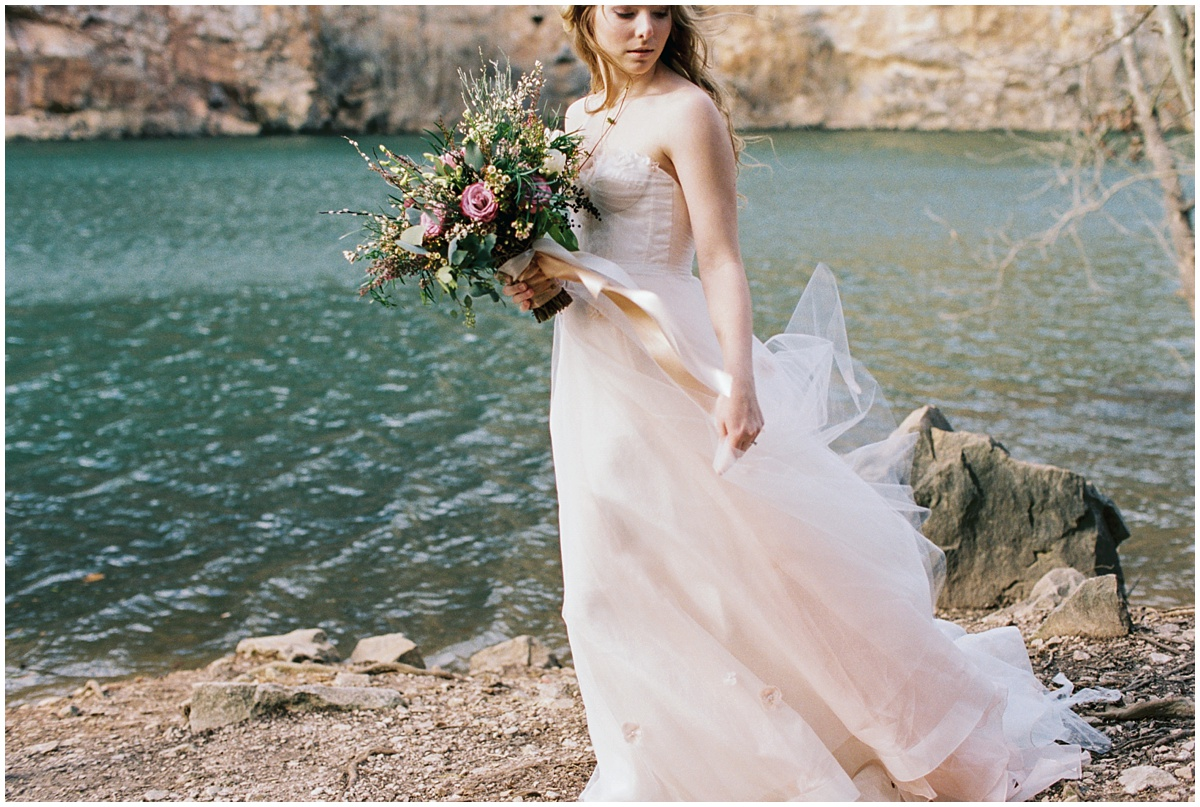 Abigail_Malone_Film_Wedding_Photography_KNoxville_TN_Blush_Dress_Outdoor_Windy_Pink_and_Green_Wedding_0049.jpg