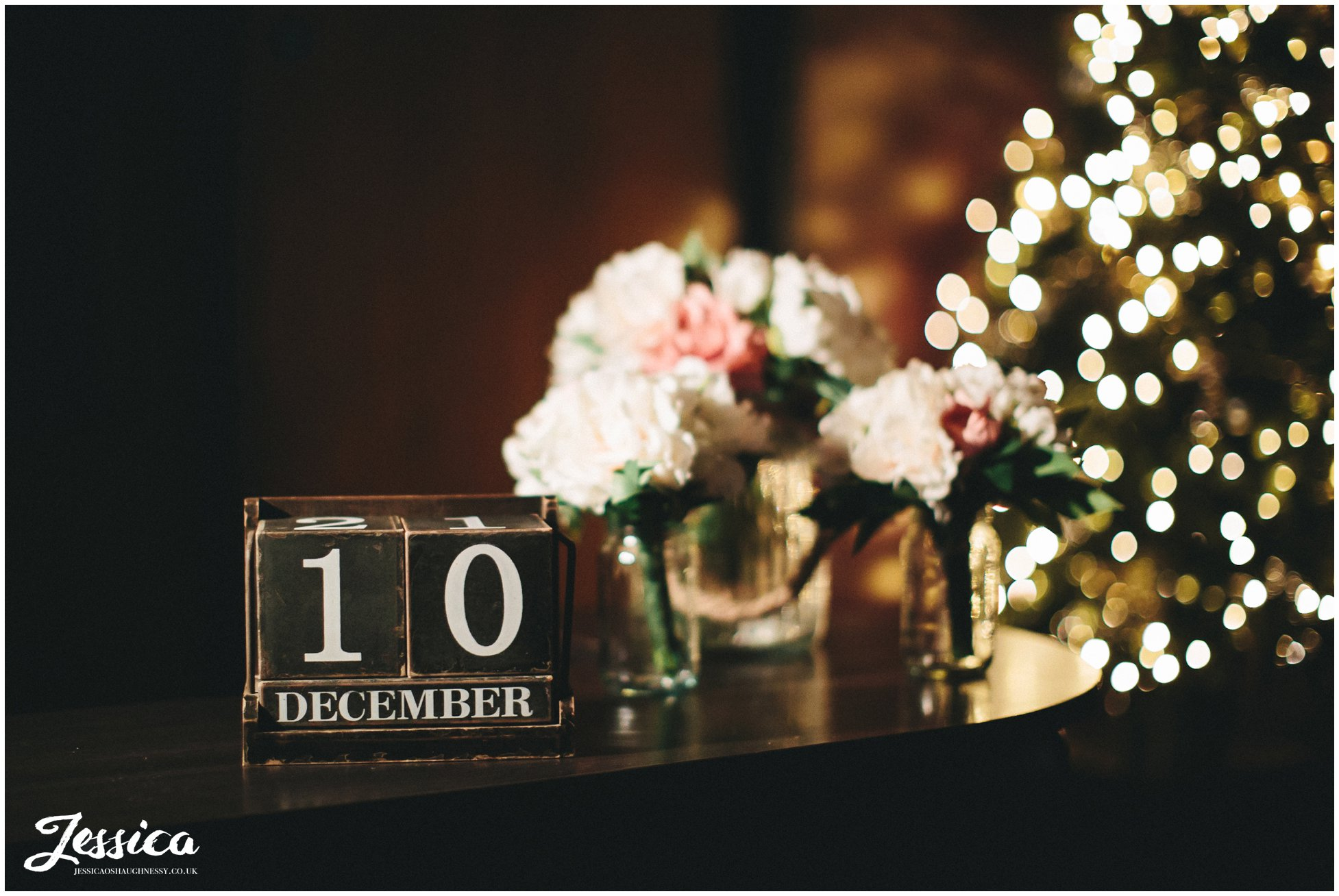 sign at on the 7th saying 10th december