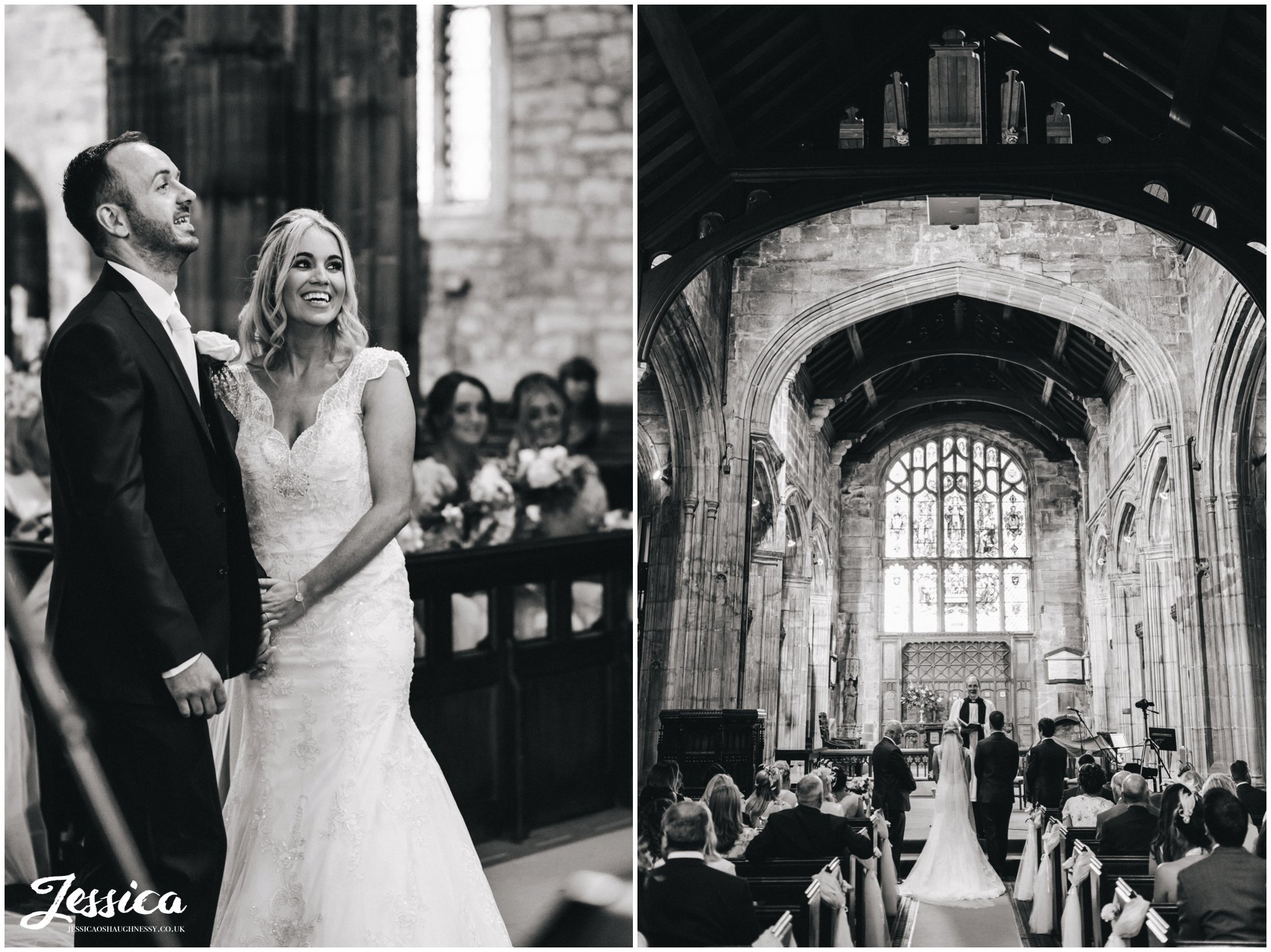 black & white photos during a wirral wedding ceremony