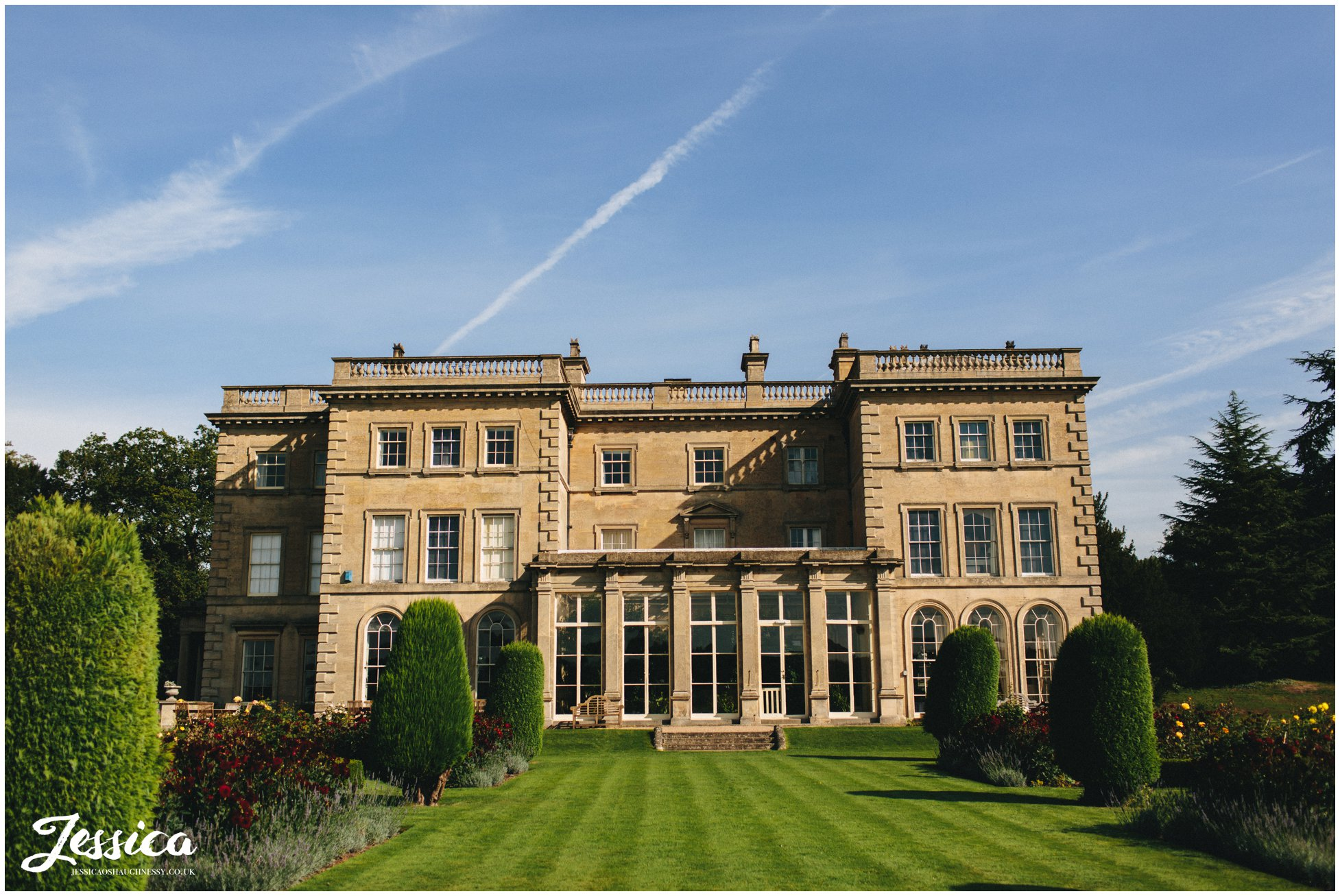 view of prestwold hall in loughborough