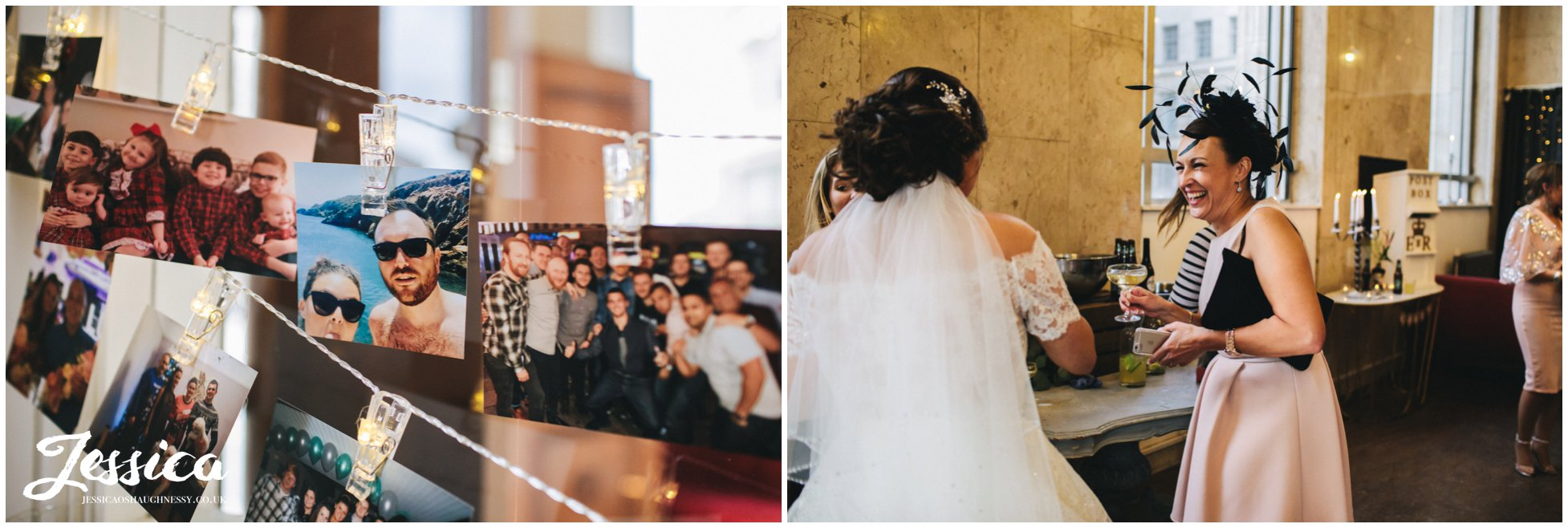 photos of the newly wed's decorate liverpool wedding venue, oh me oh my