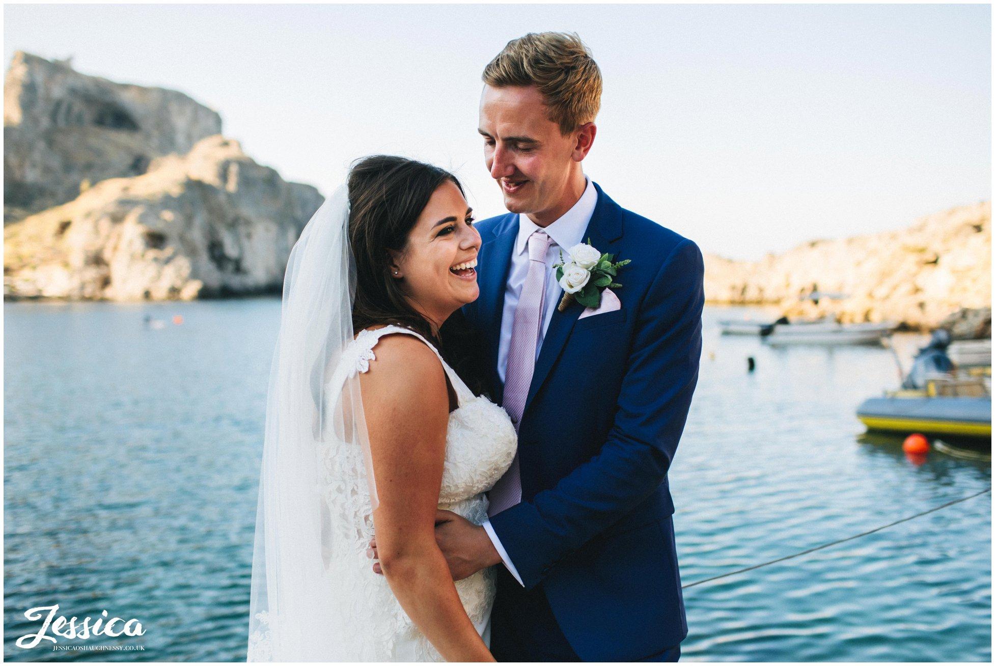 St Paul's Bay, Rhodes Wedding Photographer