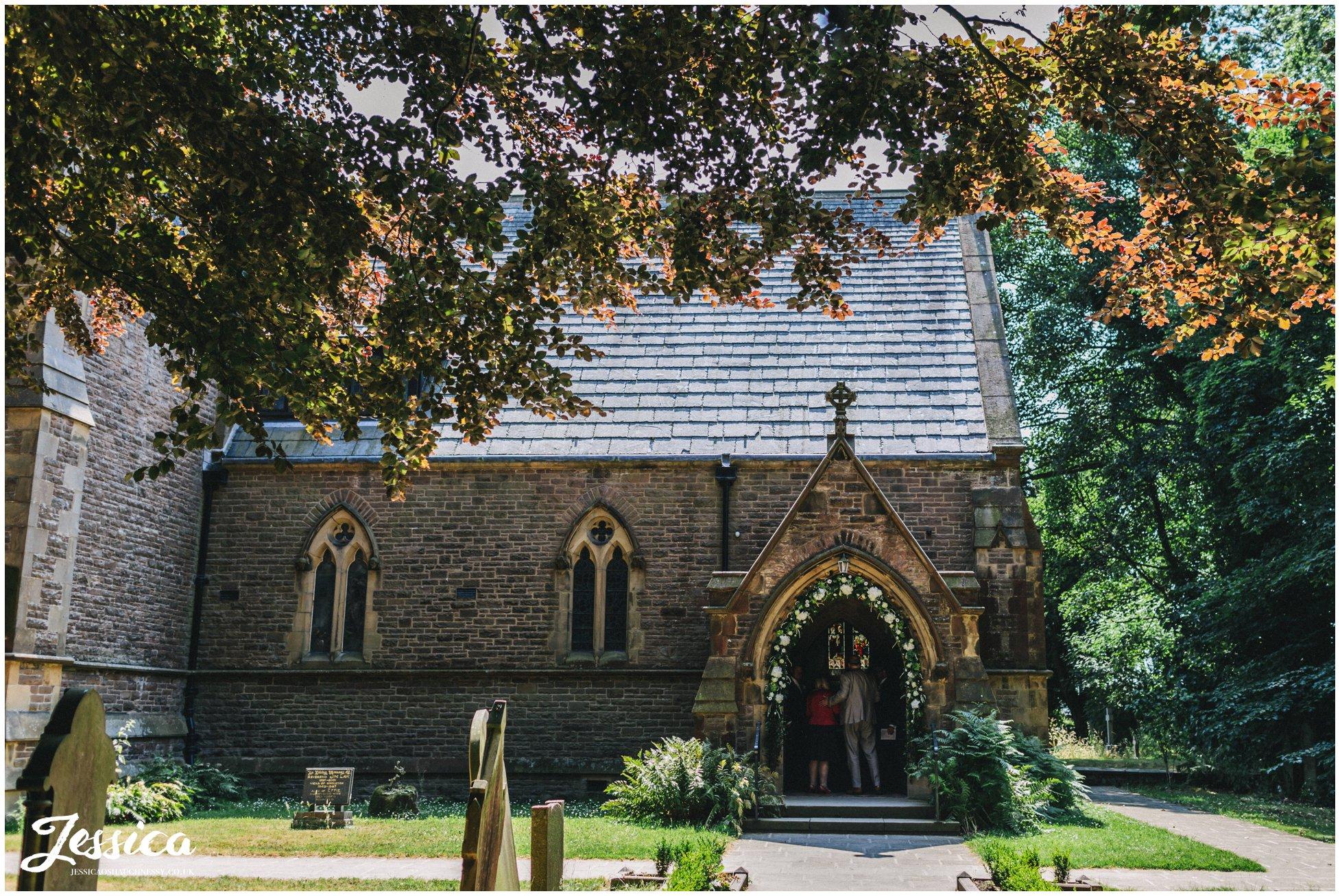 St Annes church in Singleton, Lancashire