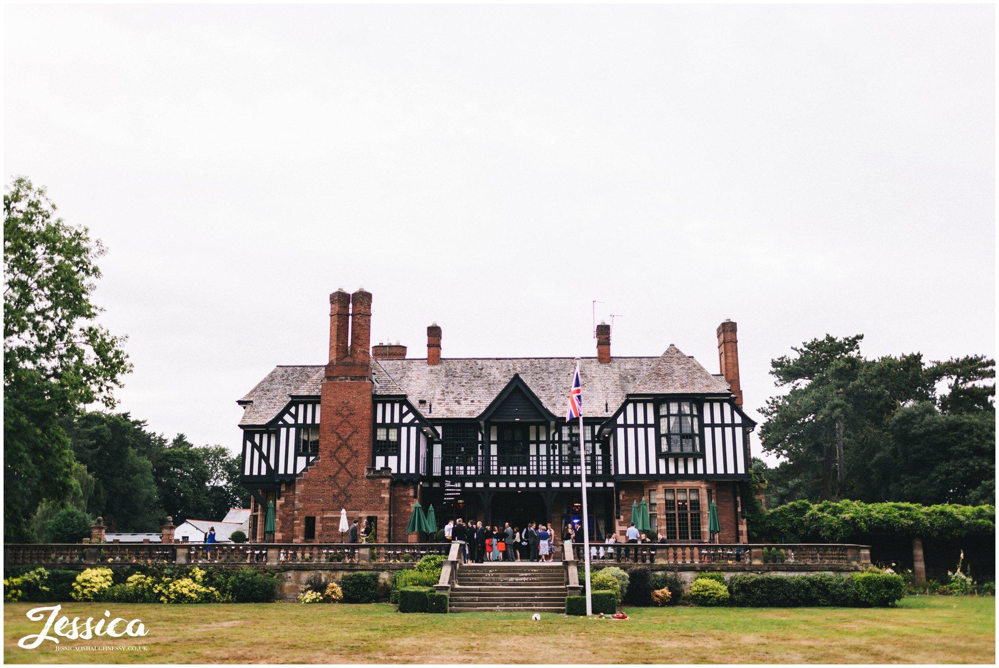 inglewood manor wedding venue in cheshire