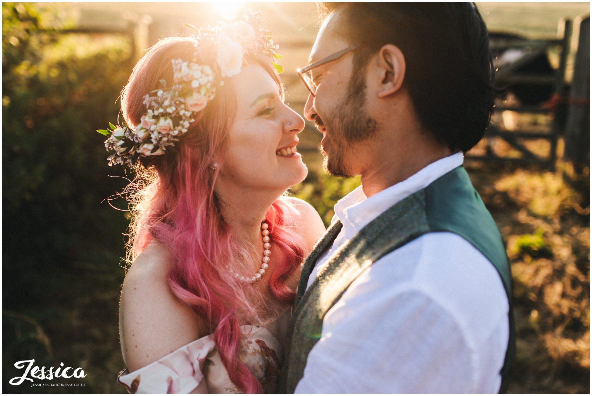 An Sugnall Walled Garden wedding in Staffordshire